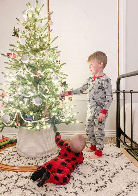 Family Christmas pajamas. Kids room decor inspo.   #LTKbaby #LTKhome #LTKkids