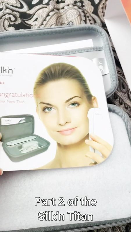 Part 2 of learning about the Silk'n Titan.   Anti-aging products are popular and for good reason and the Silk'n Titan Anti Aging Skin Tightening Device is a scientific breakthrough in skin rejuvenation for the face, neck and neckline.    The secret lays in the revolutionary HT (Home Tightening) technology, which helps tighten facial skin, minimizes the look of wrinkles and helps reinstate collagen and elastin fibers. Try the new, ultimate skin anti-aging treatment in your own home.    The technology behind Silk'n Titan makes this device suitable for all skin types and all skin colors. #silkn #silkntitan #antiagingdevice #beautytool #wrinkles #antiaging   #skinrejuvenation #collagen ##athomeantiagingtreatments #antiagingbeautytools