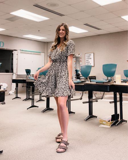 Cheetah print Amazon dress perfect for summer events, weddings, or teaching!  http://liketk.it/3gOUJ #liketkit @liketoknow.it #LTKunder50 #LTKstyletip #LTKwedding