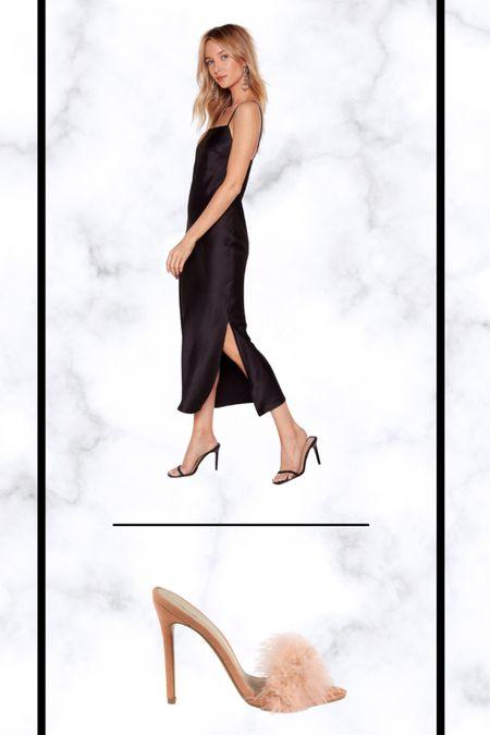 Perfect slip dress 🖤 http://liketk.it/372H2 #liketkit @liketoknow.it