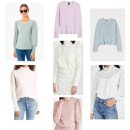 Some new finds of womens sweaters and tops! http://liketk.it/35LwM #liketkit #StayHomeWithLTK #LTKworkwear @liketoknow.it #LTKunder50 #womensoutfits #tops #basics #sweaters