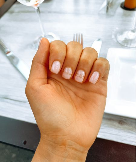 The girl next to me at the salon had this cute mani & I copied! What do we think?  #LTKstyletip #LTKunder50 #LTKbeauty