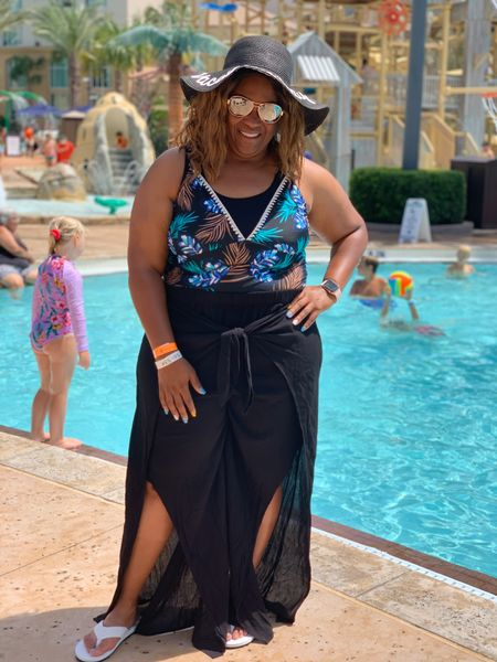 Spent the day with the family at Cypress Springs Water Park in Florida. Loved my swimsuit and cover up from @target. My stylish hat is from @amazon #TargetStyle #SummerVibes #Travel   #LTKfamily #LTKtravel #LTKswim