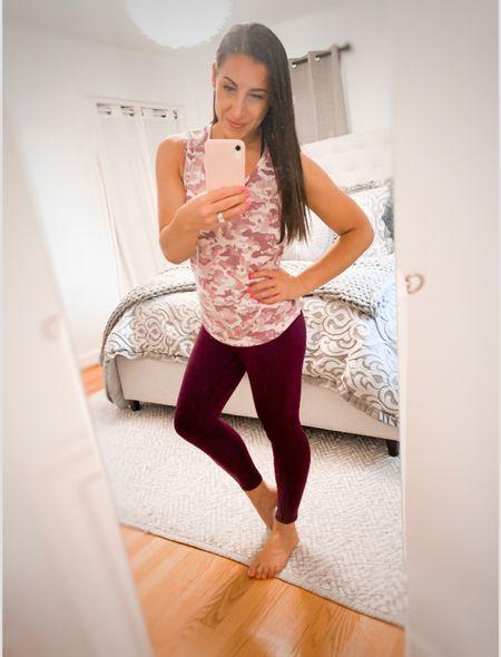 Fabletics leggings and tank   #LTKfit #LTKunder50 #LTKstyletip