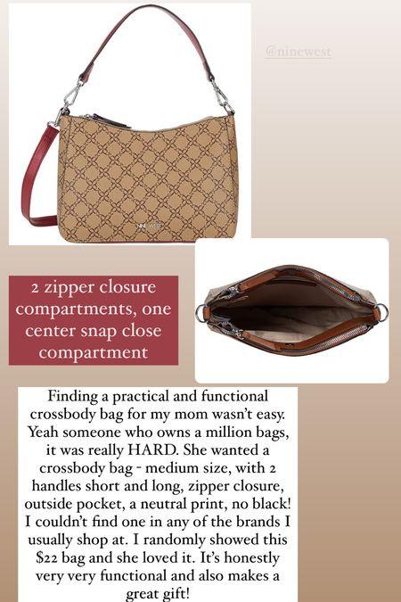 $22 crossbody bag I got for my mom!   #LTKGiftGuide #LTKunder50 #LTKitbag