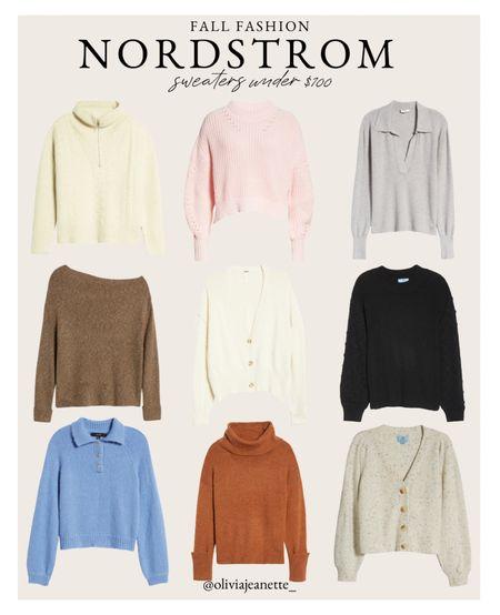 Sweaters for fall under $100. 🍂   #LTKsalealert #LTKunder100 #LTKSeasonal