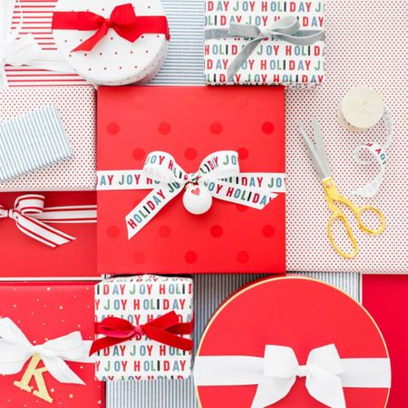 This wrapping paper at target is so cute! It's extremely affordable as well!  Christmas decor, black-and-white Christmas, black velvet, wrapping paper, Christmas wrapping paper, Christmas bells, Christmas ribbon, modern Christmas, Christmas tree, Christmas ornaments, Target Home , Target Finds, Christmas tree , Christmas ornament  #LTKHoliday #LTKhome #LTKstyletip