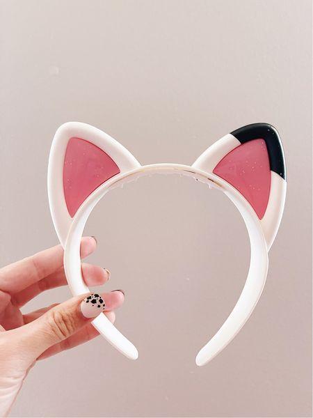 Toddler girl gift idea! Gabby's Dollhouse cat ears