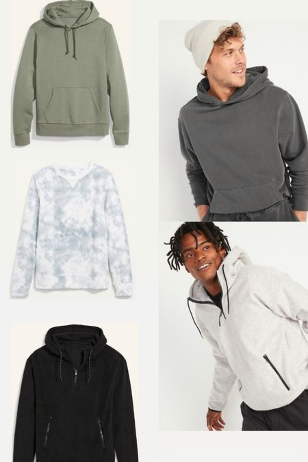 Old Navy Sweatshirt sale 50% off. Men's fall fashion. Loungewear.  #LTKsalealert #LTKunder50 #LTKmens