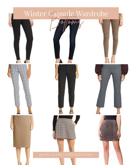 Here are my winter bottoms essentials from Nordstrom! They include jeans from Levi's, rag & bone plaid trousers, and a plaid miniskirt from La La Land Creative Co. Find your winter wardrobe essentials at Nordstrom now!  #LTKSeasonal #LTKstyletip #LTKworkwear