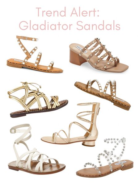 Gladiator sandals are back and they are cuter than ever! http://liketk.it/3hJB3 #liketkit @liketoknow.it #shoes #sandals #revolve #nordstrom #summeroutfit
