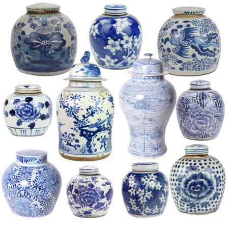Who loves blue & white ginger jars?! Some of my favorites are by @cailinicoastal |   #LTKhome