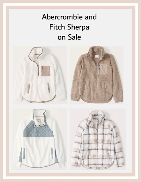 Abercrombie Sherpa Sweatshirts on Major Sale    End of summer, Travel, Back to School, Candles, Earth Tones, Wraps, Puffer Jackets, welcome mat, pumpkins, jewel tones, knits, Country concert, Fall Outfits, Fall Decor, Nail Art, Travel Luggage, Work blazers, Heels, cowboy boots, Halloween, Concert Outfits, Teacher Outfits, Nursery Ideas, Bathroom Decor, Bedroom Furniture, Bedding Collections, Living Room Furniture, Work Wear, Business Casual, White Dresses, Cocktail Dresses, Maternity Dresses, Wedding Guest Dresses, Necklace, Maternity, Wedding, Wall Art, Maxi Dresses, Sweaters, Fleece Pullovers, button-downs, Oversized Sweatshirts, Jeans, High Waisted Leggings, dress, amazon dress, joggers, home office, dining room, amazon home, bridesmaid dresses, Cocktail Dress, Summer Fashion, Designer Inspired, wedding guest dress, Pantry Organizers, kitchen storage organizers, hiking outfits, leather jacket, throw pillows, front porch decor, table decor, Fitness Wear, Activewear, Amazon Deals, shacket, nightstands, Plaid Shirt Jackets, Walmart Finds, tablescape, curtains, slippers, Men's Fashion, apple watch bands, coffee bar, lounge set, golden goose, playroom, Hospital bag, swimsuit, pantry organization, Accent chair, Farmhouse decor, sectional sofa, entryway table, console table, sneakers, coffee table decor, laundry room, baby shower dress, shelf decor, bikini, white sneakers, sneakers, Target style, Date Night Outfits,  Beach vacation, White dress, Vacation outfits, Spring outfit, Summer dress,Target, Amazon finds, Home decor, Walmart, Amazon Fashion, SheIn, Kitchen decor, Master bedroom, Baby, Swimsuits, Coffee table, Dresses, Mom jeans, Bar stools, Desk, Mirror, swim, Bridal shower dress, Patio Furniture, shorts, sandals, sunglasses, Dressers, Abercrombie, Bathing suits, Outdoor furniture, Patio, Bachelorette Party, Bedroom inspiration, Kitchen, Disney outfits, Romper / jumpsuit, Bride, Beach Bag, Airport outfits, packing list, biker shorts, sunglasses, midi dress, Weeke