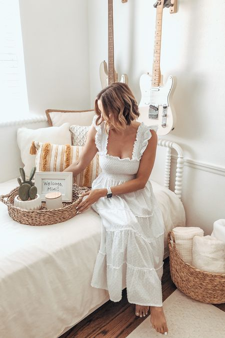 #ad Today on the blog I'm partnering with @walmart to share 5 simple tips to give your guest room a little refresh! Now that people are traveling more we are so excited to start hosting guests in our home!! First up - our Mimi!! Head to the blog to read more & shop all the items via the @liketoknow.it app! #walmarthome #liketkit http://liketk.it/3k6YP #LTKunder100 #LTKunder50 #LTKhome