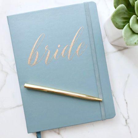 Bride journal by BlessThisBrideCo on Etsy ⭐️   @liketoknow.it #liketkit http://liketk.it/3jr2t #LTKwedding #LTKunder50 #LTKhome
