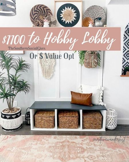 $1100 to hobby lobby gifting   http://liketk.it/3eXSG #liketkit @liketoknow.it #LTKhome @liketoknow.it.home #LTKunder100 #LTKsalealert