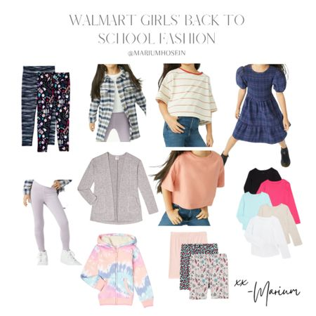 I love shopping for girls clothes. These are such cute finds at @walmart at such affordable prices. Great for transitioning from summer to fall. They run true to size.   #LTKkids #LTKfamily #LTKhome