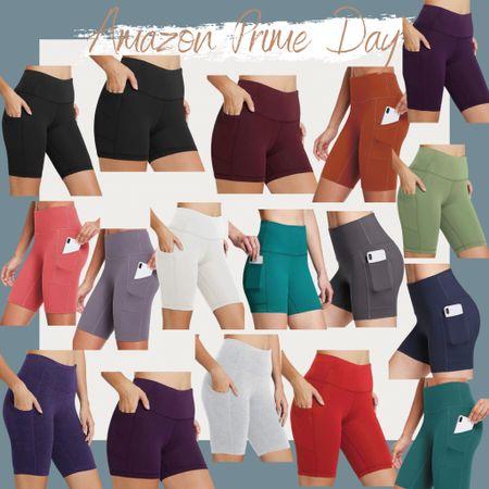 http://liketk.it/3idWX #liketkit @liketoknow.it #LTKsalealert #LTKunder50 Amazon Prime Day, Prime Day 2021, Amazon Fashion, Found it On Amazon, Amazon, Amazon Finds, biker shorts, high waist biker shorts, yoga shorts, 8 inch biker shorts, 7 inch biker shorts, 5 inch biker shorts,