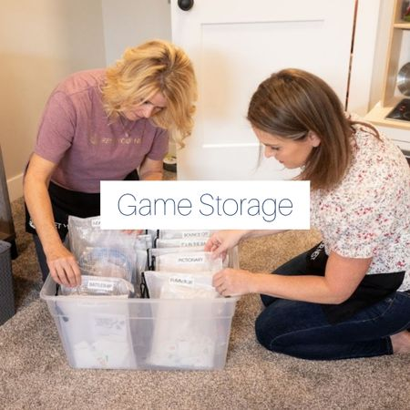 Shop game storage, hand-picked by Jen from Reset Your Nest. http://liketk.it/3kSfV @liketoknow.it #liketkit #LTKhome #LTKfamily @liketoknow.it.home @liketoknow.it.family
