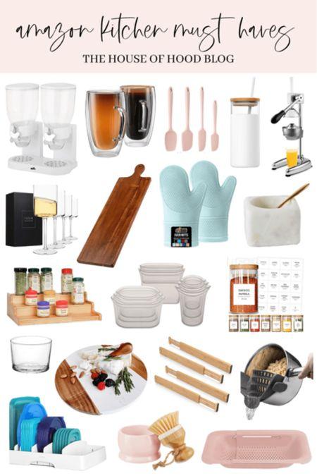 Amazon kitchen must haves!    http://liketk.it/3dy4q #liketkit @liketoknow.it    #LTKhome #LTKsalealert #LTKunder50 @liketoknow.it.home   You can instantly shop my looks by following me on the LIKEtoKNOW.it shopping app