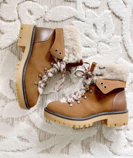 Walmart under $30 faux fur winter boots  #ad #walmartfashion @walmart @walmartfashion   #LTKHoliday #LTKshoecrush #LTKSeasonal