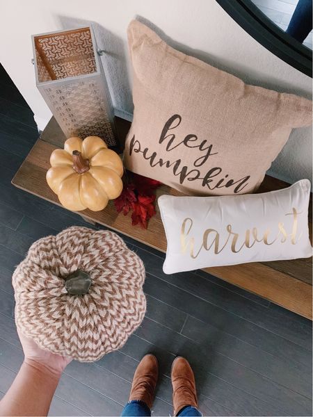 Fall home decor decorations pillows pumpkins   #LTKunder50 #LTKhome #LTKSeasonal