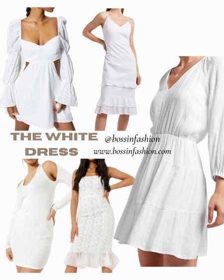 White dresses are in for summer! Shop my favorites! Some are on sale! Click through to see!!!! #white #whitedresses #maxidress #summerwhite #summerdress #ootd #LTKstyletip #LTKunder100 Shop your screenshot of this pic with the LIKEtoKNOW.it shopping app http://liketk.it/3hsVo #liketkit @liketoknow.it