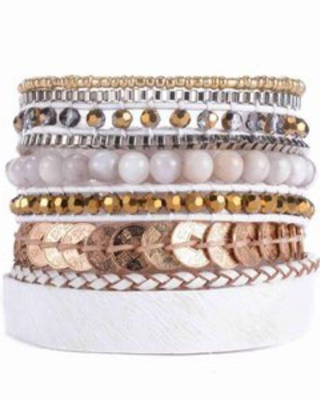 Victoria Emerson Sale Buy One Get One free These bracelets are gorgeous and beautiful and add so much to an outfit. Pair with jeans and nice top for a stylish and put together outfit #liketkit @liketoknow.it http://liketk.it/37VGB Shop my daily looks by following me on the LIKEtoKNOW.it shopping app  #LTKstyletip  #LTKsalealert #LTKunder50