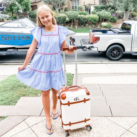 And we're off! This Mark and Graham suitcase is so adorable and it fits so much!  http://liketk.it/2T6nX #liketkit @liketoknow.it