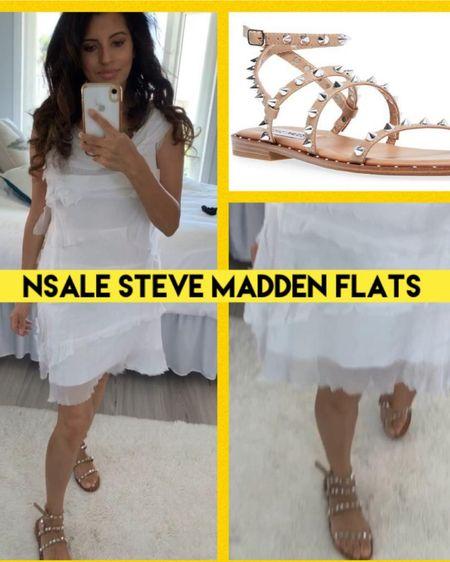Steve Madden flats. So comfortable. Dress up or down. True to size.    http://liketk.it/3jUt7 #liketkit @liketoknow.it