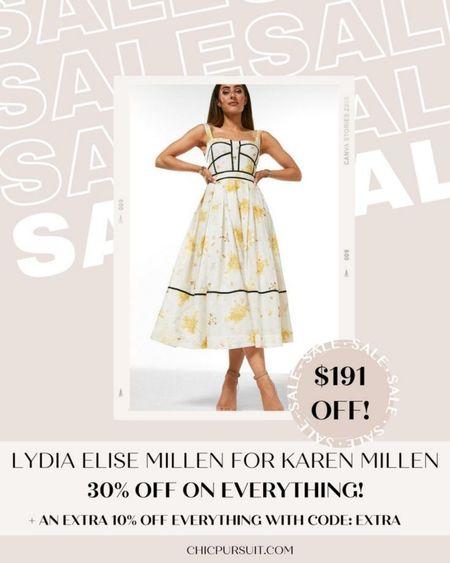 SALE ALERT! Lydia Elise Millen for Karen Millen is 30% off + 10% extra with code EXTRA in their Memorial Day Sale! These pieces are so beautiful!! #LTKsalealert #LTKSpringSale #LTKstyletip http://liketk.it/3giDk @liketoknow.it #liketkit