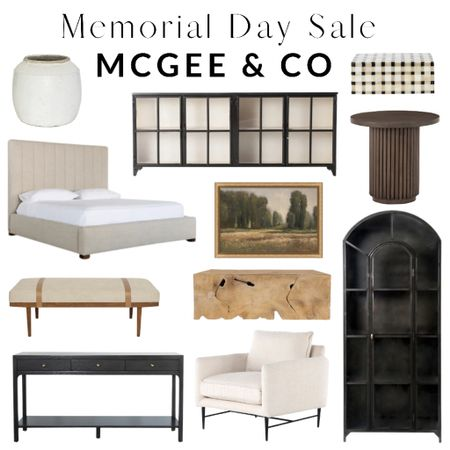 Memorial Day Sale! McGee and Co, Studio McGee, rug, bed, table, chair, home decor, bedroom, living room, entryway    http://liketk.it/3gaNs W #liketkit  l @liketoknow.it #LTKsalealert #LTKhome #LTKfamily @liketoknow.it.home