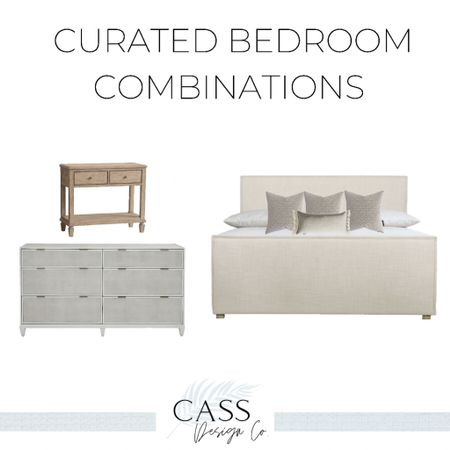 Curated Bedroom Collections
