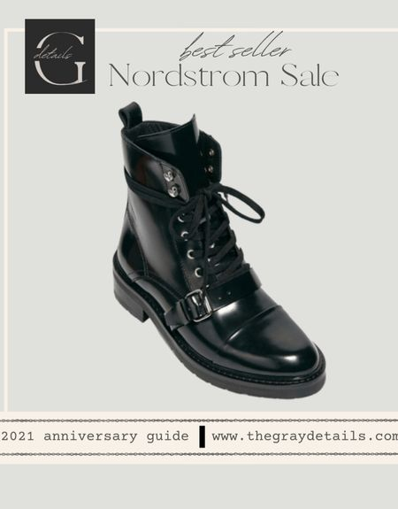 Best selling combat boot Nordstrom Anniversary and sizes available! / nsale  #LTKsalealert #LTKstyletip #LTKshoecrush