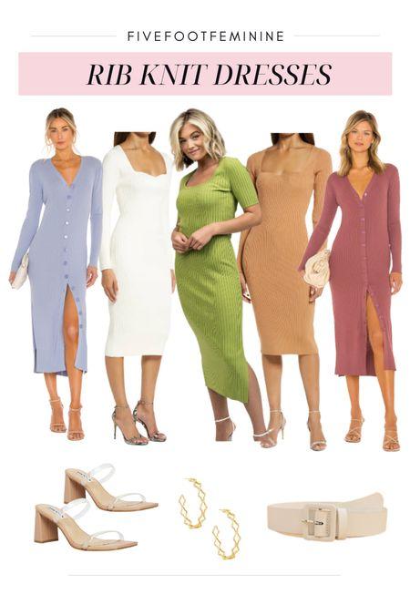 These rib knit dresses would be perfect for fall!   #LTKstyletip #LTKsalealert #LTKSeasonal