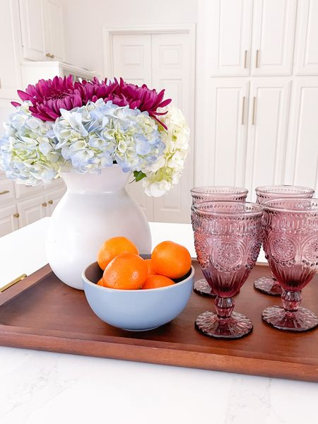 It's starting to look like fall around here! Loving these new glasses that are $18 for a set of four 🤍 Everything else is linked here #ad #walmarthome #fall #falldecor #athome #under100   #LTKSeasonal #LTKhome #LTKunder50