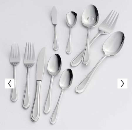 My silverware set ✨  #LTKsalealert #LTKunder100 #LTKHoliday