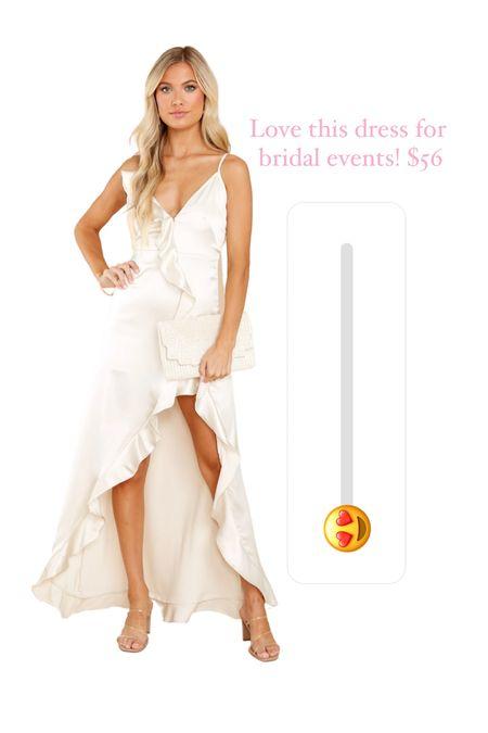 Bridal shower, rehearsal dinner, bachelorette   #LTKwedding #LTKunder100