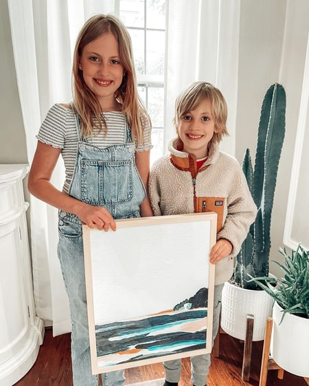 Giving Nana artwork for Mother's Day! I love this print from @minted - it reminds me of the sand dunes in Northern Michigan and I think it will look great at the family cottage. But who should hand it to Nana? 👉🏻 Use code MDKARI for 20% off Mother's Day gifts this weekend only! Check my stories for more ideas like stationary and puzzles ❤️🙌🏻 Shop your screenshot of this pic with the LIKEtoKNOW.it shopping app http://liketk.it/3dIu1 #liketkit @liketoknow.it #LTKhome #LTKunder100 #LTKsalealert