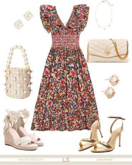 Wedding guest outfit   http://liketk.it/3iRxQ #liketkit @liketoknow.it #LTKstyletip #LTKshoecrush #LTKwedding #summerwedding #summerdress