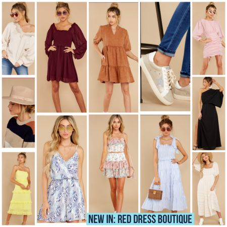 New In: Red Dress Boutique!   #reddressboutique #rdbabe #reddress #dress #goldengoosedupe #dupe #hat #sweaterweather #sweater #fallstyle #fall #Styleblogger #bloggerstyle #LTKunder100 #rStheCon #LTKunder50 @liketoknow.it #liketkit http://liketk.it/2TzYl