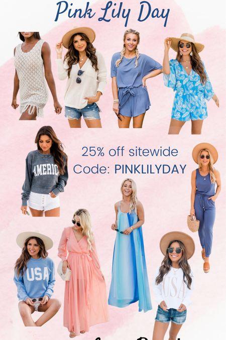 Pink Lily Day   http://liketk.it/3i76f #liketkit @liketoknow.it #LTKsalealert #LTKunder50 #LTKstyletip