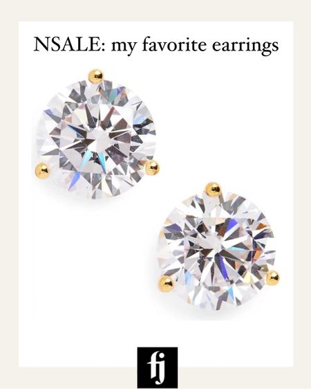 My favorite earrings for years and part of the #nsale! I always get so many compliments on these and the quality is so good! #nordstromsale  #LTKsalealert #LTKunder50 #LTKstyletip
