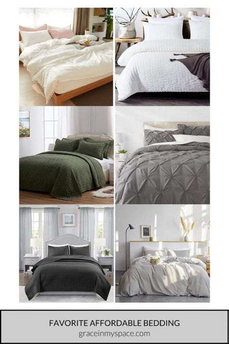 Check out my favorite affordable bedding that you can find on Amazon!  http://liketk.it/3iq9m #liketkit @liketoknow.it