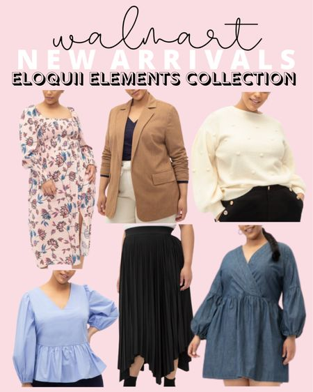 The plus size Eloquii Elements fall collection is rolling out at Walmart! So many cute plus size fashion pieces for fall, all under $50!   #LTKunder50 #LTKcurves #LTKstyletip