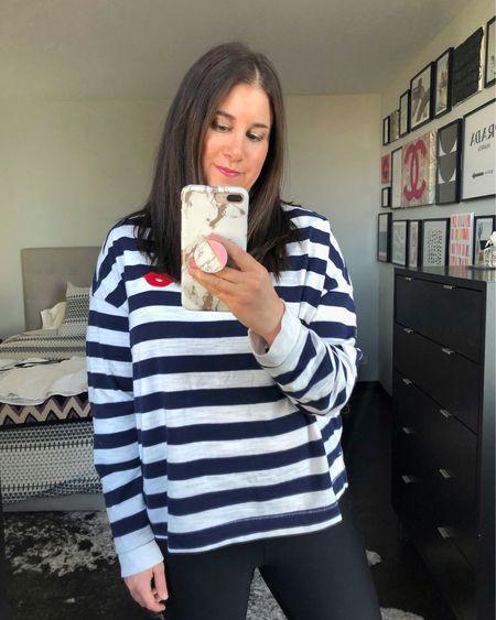 Striped shirt $20❤️// http://liketk.it/3d1ot #liketkit @liketoknow.it