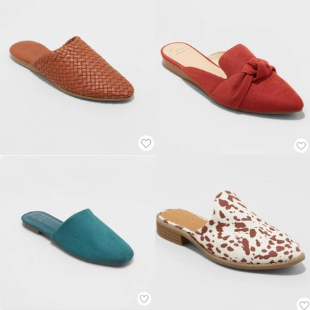 Target has shoes on sale through Tuesday! Lots of cute ones including all these mules!   #LTKunder50 #LTKsalealert #LTKSeasonal