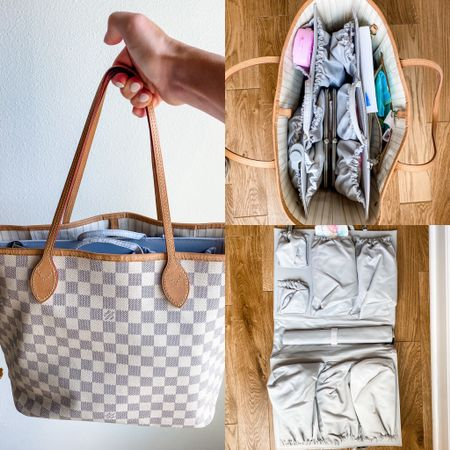 Getting the diaper bag ready for baby girl in the next couple weeks! We settled on the Neverfull tote so we can use it after the baby stage, with this awesome organizer inside. I can already tell it will be so useful!  #diaper #diaperbag #neverfull #louisvuitton #tote #organize #baby #babygear #organization #storage #purse #diaperbag #classic #momlife   #LTKbump #LTKbaby #LTKfamily