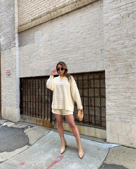 Spring outfit. Matching set. http://liketk.it/3eq1Q #liketkit @liketoknow.it #LTKstyletip #LTKshoecrush #LTKunder100