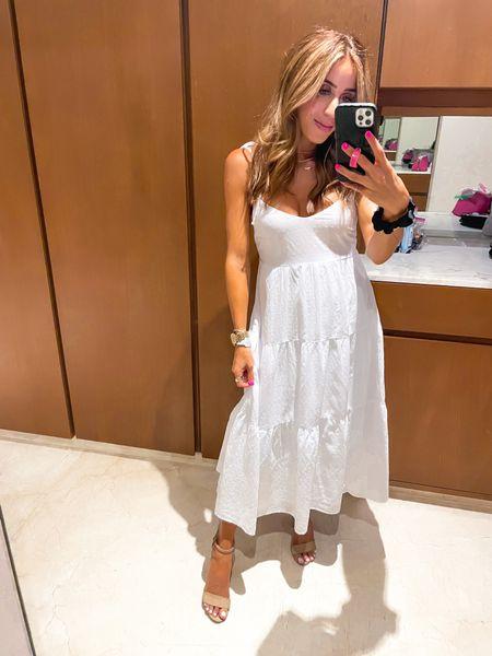 White dress size Xs   #LTKunder100 #LTKwedding #LTKsalealert